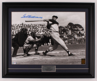 Ted Williams Signed Red Sox 18.5x22.5 Custom Framed Photo Display (PSA LOA & Ted Williams Hologram) at PristineAuction.com