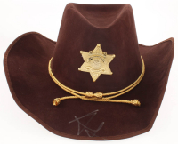 "Andrew Lincoln Signed ""The Walking Dead"" Sheriff Hat (PSA LOA) at PristineAuction.com"