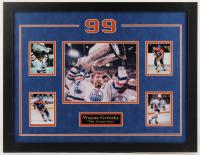 Wayne Gretzky Signed Oilers 20x26 Custom Framed Photo Display (JSA COA) at PristineAuction.com