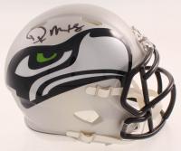 DK Metcalf Signed Seahawks AMP Alternate Speed Mini-Helmet (JSA COA) at PristineAuction.com