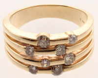 0.96ct Diamond Ring 14kt Yellow Gold (AIG Appraisal) at PristineAuction.com
