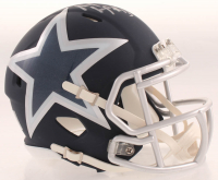 Michael Gallup Signed Cowboys AMP Alternate Speed Mini-Helmet (JSA COA) at PristineAuction.com