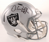 Darren Waller Signed Raiders Full-Size Speed Helmet (JSA COA) at PristineAuction.com