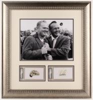 Jack Nicklaus & Arnold Palmer Signed 24x25.5 Custom Framed Cut Display (PSA Encapsulated) at PristineAuction.com