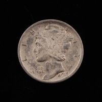 1918-S Mercury Silver Dime at PristineAuction.com