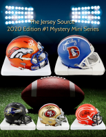 The Jersey Source Mystery Box - Autographed Mini Helmet 2020 Series at PristineAuction.com