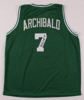 "Nate ""Tiny"" Archibald Signed Jersey Inscribed ""HOF 91"" (JSA COA) at PristineAuction.com"