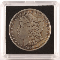1898-S Morgan Silver Dollar with Display Case at PristineAuction.com
