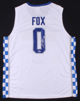 De'Aaron Fox Signed Kentucky Wildcats Jersey (Beckett COA) at PristineAuction.com