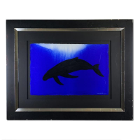"Wyland Signed ""Humpback"" 36x29 Original Painting at PristineAuction.com"