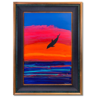 """Wyland Signed """"Hawaii Days"""" 34x46 Original Painting on Board at PristineAuction.com"""