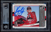 Kyle Larson Signed 2017 Donruss #133 (BGS Encapsulated) at PristineAuction.com