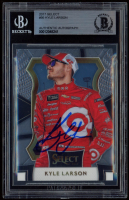 Kyle Larson Signed 2017 Select #95 (BGS Encapsulated) at PristineAuction.com
