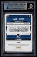 Kyle Larson Signed 2019 Donruss #93 (BGS Encapsulated) at PristineAuction.com