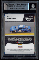 Kyle Larson Signed 2019 Panini Victory Lane Machines #13 (BGS Encapsulated) at PristineAuction.com