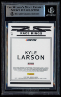 Kyle Larson Signed 2020 Donruss #13 Race Kings (BGS Encapsulated) at PristineAuction.com