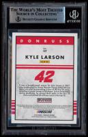 Kyle Larson Signed 2018 Donruss #137 Retro (BGS Encapsulated) at PristineAuction.com