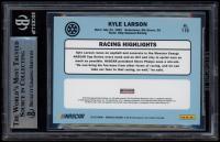 Kyle Larson Signed 2019 Donruss #116 Retro (BGS Encapsulated) at PristineAuction.com