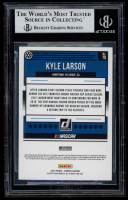 Kyle Larson Signed 2019 Donruss #70 (BGS Encapsulated) at PristineAuction.com