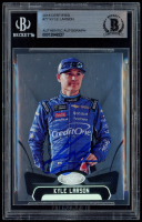 Kyle Larson Signed 2018 Certified #77 (BGS Encapsulated) at PristineAuction.com