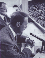 """Vin Scully Signed 8.5x11 Photo Inscribed """"Best Wishes"""" (PSA COA) at PristineAuction.com"""