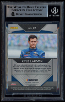 Kyle Larson Signed 2019 Panini Prizm #27 (BGS Encapsulated) at PristineAuction.com
