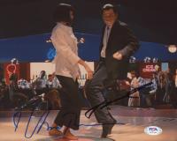 "John Travolta & Uma Thurman Signed ""Pulp Fiction"" 8x10 Photo (PSA COA) at PristineAuction.com"