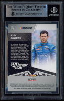 Kyle Larson Signed 2019 Panini Victory Lane #27 (BGS Encapsulated) at PristineAuction.com