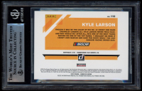 Kyle Larson Signed 2020 Donruss #110 (BGS Encapsulated) at PristineAuction.com