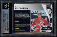 Kyle Larson Signed 2019 Panini Victory Lane #93 Past Winners (BGS Encapsulated) at PristineAuction.com