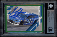 Kyle Larson Signed 2020 Donruss Green #110 (BGS Encapsulated) at PristineAuction.com