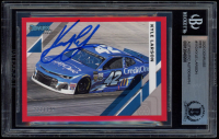 Kyle Larson Signed 2020 Donruss Red #110 (BGS Encapsulated) at PristineAuction.com