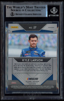 Kyle Larson Signed 2019 Panini Prizm Prizms Camo #27 (BGS Encapsulated) at PristineAuction.com