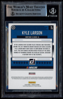 Kyle Larson Signed 2019 Donruss Silver #70 (BGS Encapsulated) at PristineAuction.com