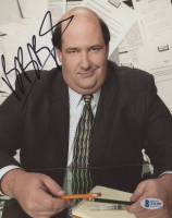 """Brian Baumgartner Signed """"The Office"""" 8x10 Photo (Beckett COA) at PristineAuction.com"""