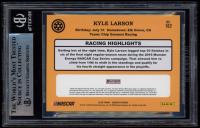 Kyle Larson Signed 2020 Donruss Red #162 Retro (BGS Encapsulated) at PristineAuction.com