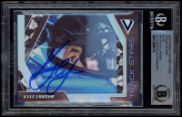 Kyle Larson Signed 2019 Panini Victory Lane Track Stars Blue #15 (BGS Encapsulated) at PristineAuction.com