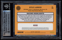 Kyle Larson Signed 2020 Donruss #162 Retro (BGS Encapsulated) at PristineAuction.com