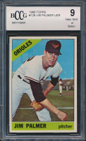 Jim Palmer 1966 Topps #126 (BCCG 9) at PristineAuction.com