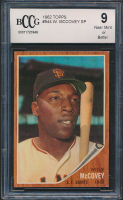 Willie McCovey 1962 Topps #544 (BCCG 9) at PristineAuction.com