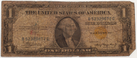 1935-A U.S. $1 One-Dollar Yellow Seal U.S. Federal Reserve Note at PristineAuction.com