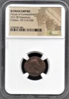 Crispus Roman Bronze Coin AD 316-326 (NGC Encapsulated) at PristineAuction.com
