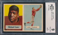 Dick Lane 1957 Topps #85 RC (BCCG 9) at PristineAuction.com