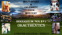 OKAUTHENTICS Multi-Sport & Celebrity 11x14 Mystery Box - Series II at PristineAuction.com