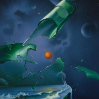 """Jim Warren Signed """"Drift Glass"""" 30x20 Artist Embellished AP Limited Edition Giclee on Canvas at PristineAuction.com"""
