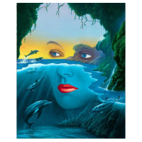 "Jim Warren Signed ""Friends of Mother Nature"" 24x18 Artist Embellished AP Limited Edition Giclee on Canvas at PristineAuction.com"