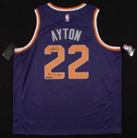 "Deandre Ayton Signed LE Suns Jersey Inscribed ""Time To Rise"" (Steiner & GDL Hologram) at PristineAuction.com"