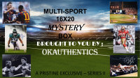 OKAUTHENTICS Multi-Sport 16x20 Mystery Box - Series II at PristineAuction.com