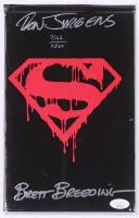 "Brett Breeding & Dan Jurgens Signed LE 1992 ""Superman"" Comic Book (JSA COA) at PristineAuction.com"