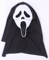 """Roger Jackson Signed """"Scream"""" Ghostface Mask Inscribed """"Ghostface"""" (JSA COA) at PristineAuction.com"""